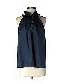 Practically New Size Sm J. Crew Sleeveless Silk Top for Women