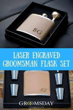 Say thanks to your ideal guys having the best friends presents. Best Groomsmen Gifts, Groomsmen Flask, Groomsman Gifts, Presents For Best Friends, Best Gifts For Men, Wedding Shower Gifts, Wedding Gifts, Bridal Shower, Gift Wrapping Techniques