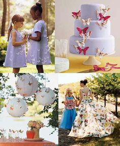 Does your Wedding have a butterfly theme?