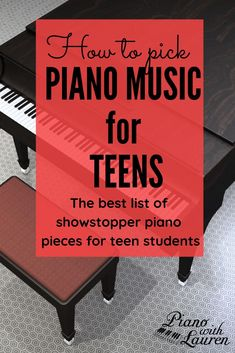 Doing your piano lesson plans for teens might be tricky. Teen piano students need pieces that give quick results. They need pieces that look way harder than they actually are! Check out this list of showstopper pieces for teenagers. Piano Lessons, Music Lessons, Music Education Lessons, Singing Lessons, Singing Tips, Learn Singing, Piano Recital, Piano Teaching, Learning Piano