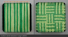 Potholder loom how-to and patterns