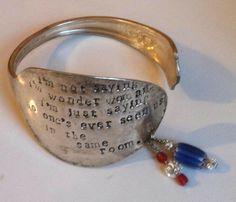 Beautiful handmade bracelet by Stephanie Sharp at Blissful Heart Studio  https://m.facebook.com/blissfulheartstudio #superhero #wonderwoman