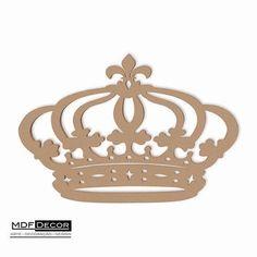 coroa de princesa mdf 60 cm decoração de festas provençal