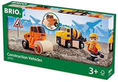 Brio Construction Vehicle Set Train Brio…