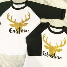 Hey, I found this really awesome Etsy listing at https://www.etsy.com/listing/254863958/kids-deer-shirt-reindeer-shirt-gold-deer