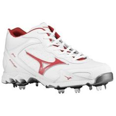 Gear Up Your Game - Athletic Shoes and Clothing Baseball Shoes, Cleats, Red, Vintage, Fashion, Football Boots, Moda, Cleats Shoes, Fashion Styles