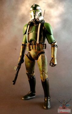 "Commander Gree (6"" Black Series) (Star Wars) Custom Action Figure"