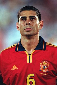 Fernando Hierro Pictures and Photos Stock Pictures, Stock Photos, Football Photos, Royalty Free Photos, Image, Spain, Iron, Sports
