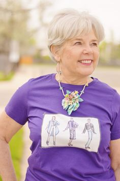 Your Accessories can add fun to your T-Shirts for Women over 50