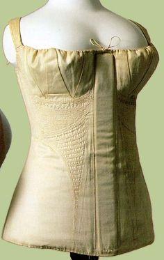 1810s corset