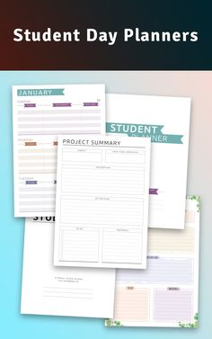 Keep track of everything, get the assignments and homework done ontime, become more effecient and less busy and achieve your goals easily with the ready-to-print ultimatestudentplanner designed to help you be more productive and organized. Before that get free printable plannersamplestemplates for the demo version. #everything #track #student #planners #keep Day Planner Template, Student Planner Printable, Day Planner Organization, Planner Ideas, Students Day, Study Schedule, Good Student, Day Planners, Free Prints