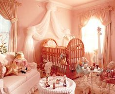 nursery fit for a little princess!