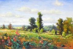 "Don Sahli, ""The Colors Of Summer"" 30x40 inches, Oil on Canvas. $9,000 - Southwest Gallery: Not Just Southwest Art."