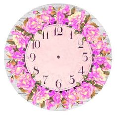 Old Clocks, Circle Pattern, Decoupage Paper, Resin Art, Crafts To Make, Clock Faces, Decorative Plates, Watch Faces, Backgrounds