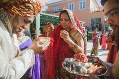 Pre-Wedding beautiful rituals during this Indian Wedding in Portugal #indianwedding #destinationweddinginportugal