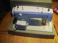 Vtg. KENMORE 2142 SEWING MACHINE Pedal Cams Buttonholer CASE Accessories Bundle | eBay