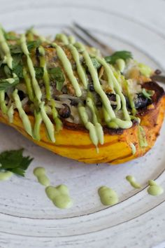 Delicata Squash Burrito Bowls ⋆ This Mess is Ours Vegetarian Recipes, Healthy Recipes, Healthy Meals, Healthy Eating, Taco Spice, Burrito Bowls, Food Obsession, Squash, Main Dishes