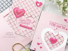 Simon Says Stamp February Card Kit Love Always, Valentines, Valentine Cards, Simon Says Stamp, Life Design, Card Kit, One Color, Wedding Cards, Giveaway