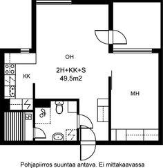 Hiekkalaiturintie, Vuosaari, Helsinki, 2h+kk+s 49,5 m², SATO vuokra-asunto