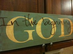 In the beginning God Genesis 1:1 https://www.facebook.com/pages/Soul-Sentiments/151648048285478