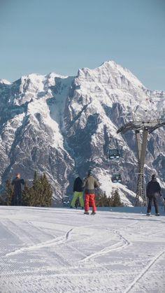 Endlich wieder die schier endlosen Abfahrten genießen, die Sonne und die Freiheit spüren. So geht Winter im SalzburgerLand. Mount Everest, Mountains, Winter, Nature, Travel, Periodic Table Printable, Ski, Freedom, Sun