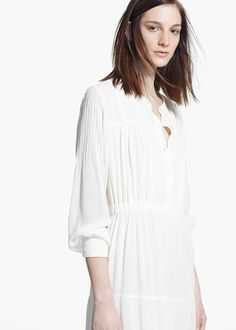 Boho flowy dress - Women | MANGO USA