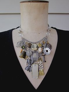 Tribute to her great grandma necklace by rebecca3030 on etsy