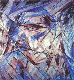 Михаил Федорович Ларионов. Портрет дурака 1912 (лучизм)