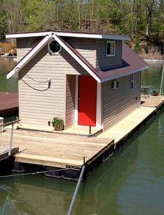 Karen Jenkins Tiny Floating Home