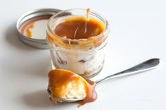 Mason Jar Salted Caramel Cheesecake | POPSUGAR Food