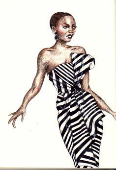 Fashion sketch - 1/1/14 esolomon