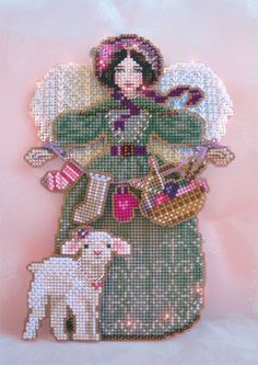 Gallery.ru / Фото #1 - Spirit of Knitting Angel - pushistik85