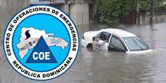 Campo lluvioso ha inundado zona norte y nordeste se ha extendido a provincias del Sur de Republica Dominicana