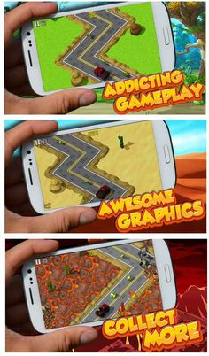 Roadway Run is an addictive runner that is sure to be a BLAST to play. Game features an endless roadway where a renegade driver collects fat stacks of cash