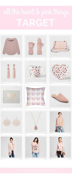 All the Heart & Pink Things - Target & Nordstrom Pink Accessories, Pink Things, Everything Baby, Pink Gifts, Perfect Party, Happy Shopping, Lifestyle Blog, Gifts For Mom, Nordstrom