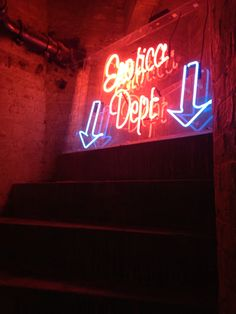 Lights of soho  Gallery opening  Neon loo !