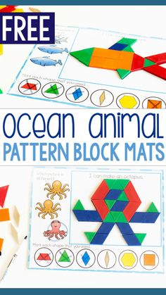 Kindergarten Math Activities, Animal Activities, Free Preschool, Preschool Learning, Preschool Activities, Animal Themes, Fun Learning, Preschool Printables, Teaching