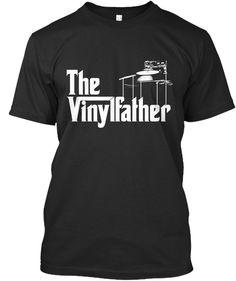 Dj And Vinyl #fathersday #djing #dj #music #vinyl #turntable