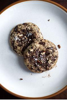 BROWN BUTTER CHOCOLATE MAPLE PECAN COOKIES