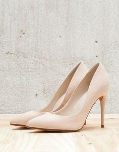 Zapato Tacón Básico maquillaje - Bershka