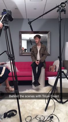 Troye Sivan.. that's literally how I sit everyday except I probably sit criss cross more..