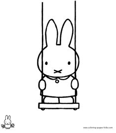 Miffy color page. Cartoon characters coloring pages. Coloring pages for kids. Thousands of free printable coloring pages for kids! Coloring Pages For Kids, Coloring Sheets, Coloring Books, Kids Cartoon Characters, Cartoon Kids, Cartoon Coloring Pages, Printable Coloring Pages, Book Cover Design, Book Design