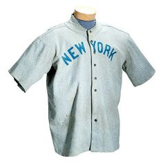 A baseball jersey worn by The Bambino sold for more than $4.4 million Sunday, a record for any item of sports memorabilia, according to the buyer and seller.