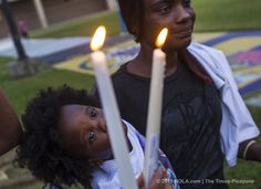 More than a dozen people spoke at a candlelight vigil Wednesday (Sept. 2) on SUNO's campus to honor the life of Davon Leggett, 22, who was killed Saturday in Terrytown.