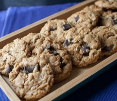 Peanut Butter Oatmeal Chocolate Chip Cookies | Finding Vegan