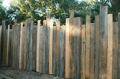 Perfect privacy fencing.