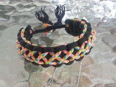 Just Listed !!! Adjustable Paracord Bracelet (Cobra/Solomon Bar with Center Weave) #550Paracordand275Paracord