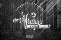 The vintage design bundle: $727 worth of premium resources with an extended License (97% off)