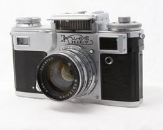 Love the look of this Kiev Russian camera