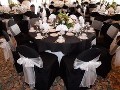 wedding reception chair cover ideas - Google Search